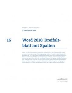 UdW 1716 Word Dreifaltblatt