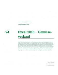 UdW 1724 Excel Funktionen