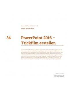 UdW 1734 PowerPoint Trickfilm