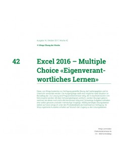 UdW 1742 Excel Multiple Choice