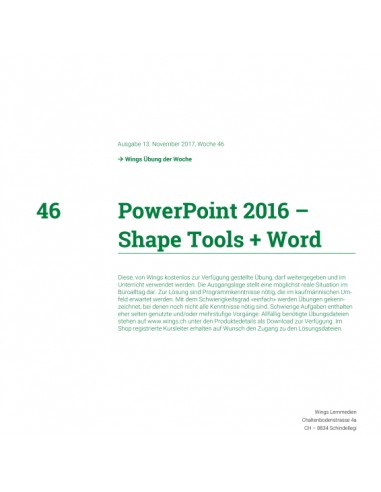 UdW 1746 PowerPoint Shape Tools