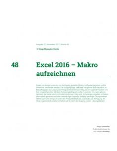 UdW 1748 Excel Makro