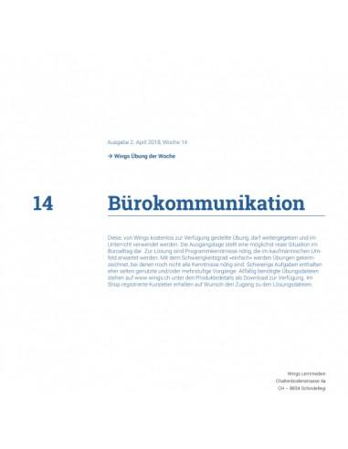 UdW 1814 Office Bürokommunikation