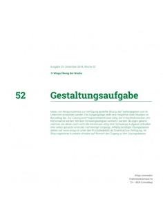 UdW 1852 Word Gestaltung