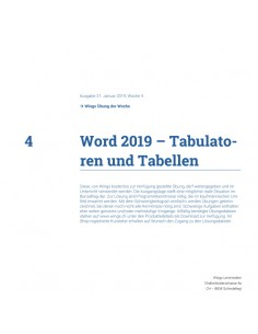 UdW 1904 Word Tabulatoren...