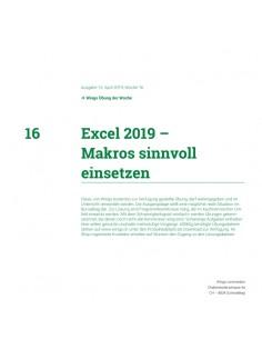 UdW 1916 Excel Makros...