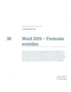 UdW 1938 Word Formulare