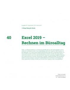UdW 1940 Excel Rechnen im...