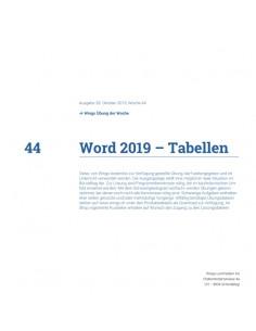 UdW 1944 Word Tabellen