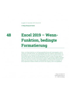 UdW 1948 Excel Bedingte...