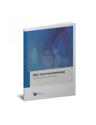 IKA Textverarbeitung Word 2016 (AU3)