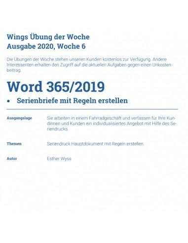 UdW 2006 Word Serienbrief mit Regeln