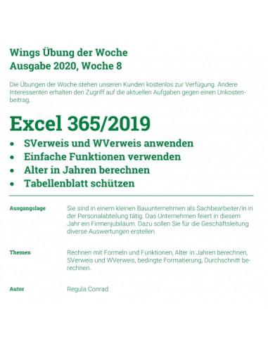 UdW 2008 Excel Verweisfunktionen
