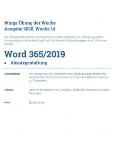 UdW 2014 Word Absatzgestaltung