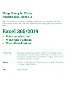 UdW 2016 Excel Funktionen