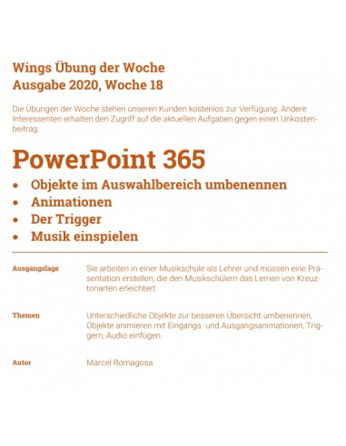 UdW 2018 PowerPoint Animationen Trigger
