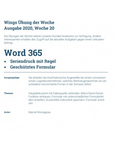 UdW 2020 Word Seriendruck Formular