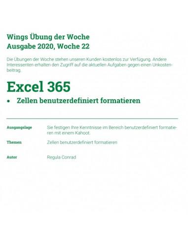UdW 2022 Excel benutzerdefiniert...