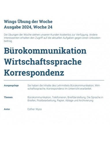 UdW 2024 Bürokommunikation