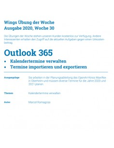 UdW 2030 Outlook Termine...