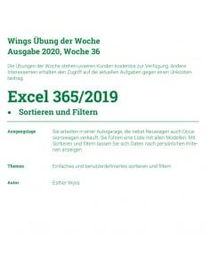 UdW 2036 Excel Sortieren...