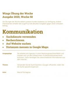 UdW 2050 Suche mit Google