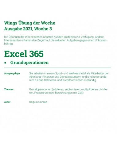 UdW 2103 Excel Grundoperationen