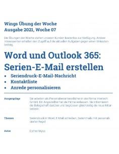 UdW 2107 Serien E-Mail...