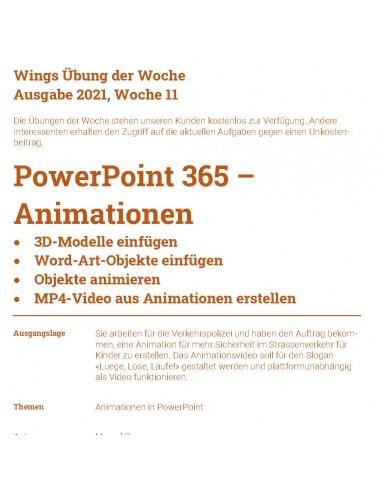 UdW 2111 Powerpoint Animationen